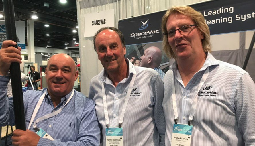 SpaceVac at Interclean 2017